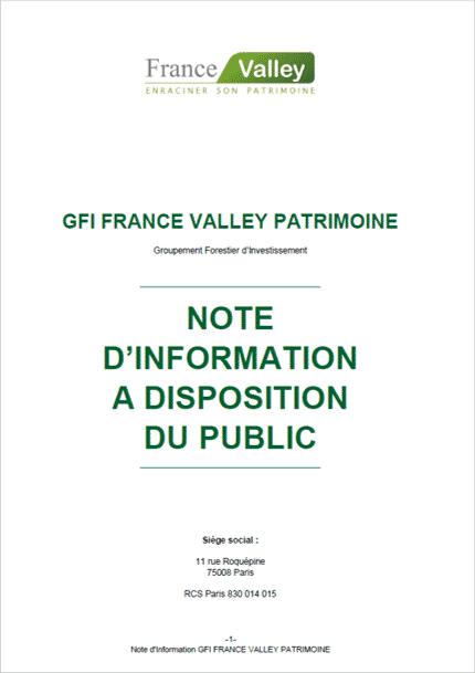 Dossier réglementaire du Groupement Forestier d'Investissement